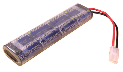 2 NiMH 9V NiMH 160mah Battery + Compact 9v Charger/w