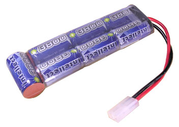 6V 4000mAh NiCd Battery Stick for Streamlight SL-35X Rechargeable Flashlight System.