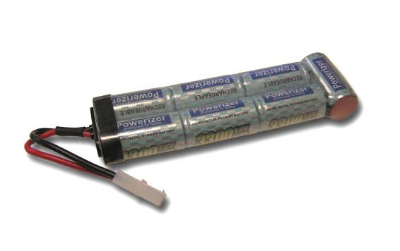 6V 2600mAh NiCd Battery Pack for Rechargeable Flashlight - Streamlight SL-20X / Maglite