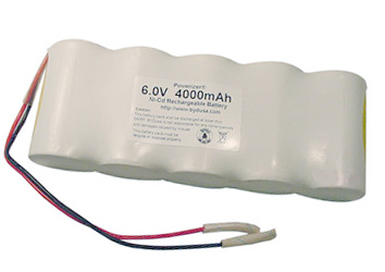 Your Price $45.95  sc 1 st  BatterySpace.com & NiCd Battery Pack: 6.0V 4000mAh (5xD) for Emergency Lighting ... azcodes.com