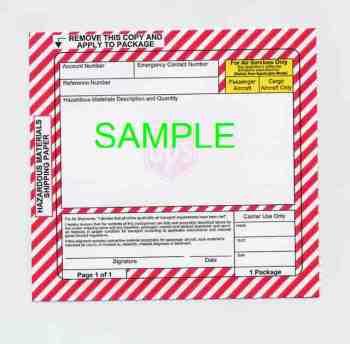 Handling fee: Hazard Material Class 9 via UPS/FedEx International ...