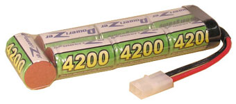 6V 3000mAh NiCd rechargeable battery pack for emergency light