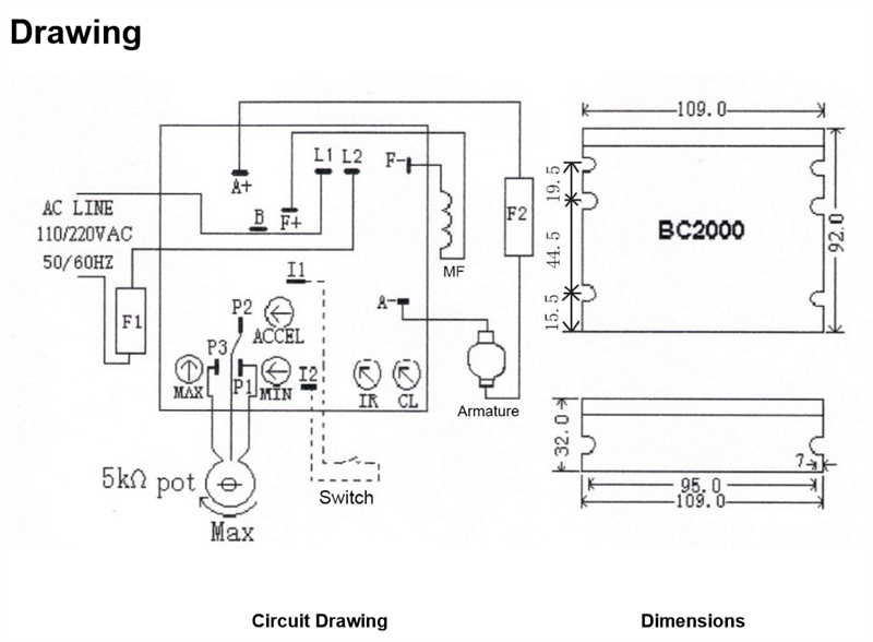 180 volt dc motor wiring diagram for Schematic diagram of dc motor
