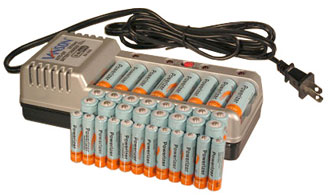 Ch V868 Eight Channels Auto Off Charger 24 Aa 2600mah