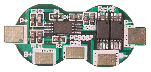 Protection Circuit Module (PCB) for 7 4v Li-ion (18650/18500) Battery Packs  (with 9A High Current Startup)