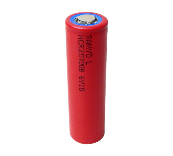 PANASONIC-SANYO 20700 Lithium Rechargeable Cell: 3.6V 4250mAh (15.72Wh,  NCR20700B) - UN38.3 Passed
