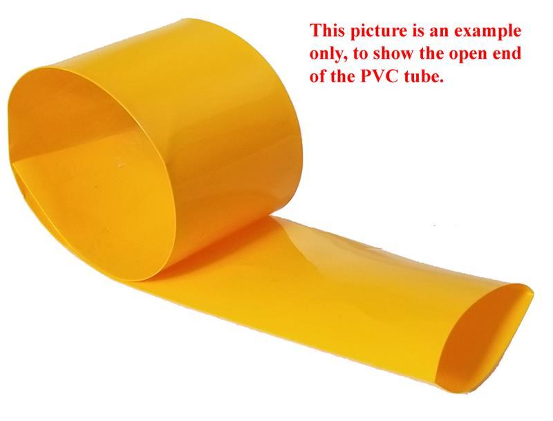 25 ft BLUE PVC Heat Shrink Wrap for Battery Packs Width 30mm-380mm