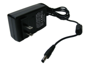 AC-DC Adapter: 100-240V AC to 15V 1 2A DC for charging 12V