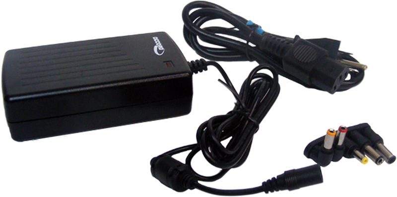 AC-DC Adapter: 100-240 VAC to 24V 2 5Amp, 60W - UL / CE / FCC