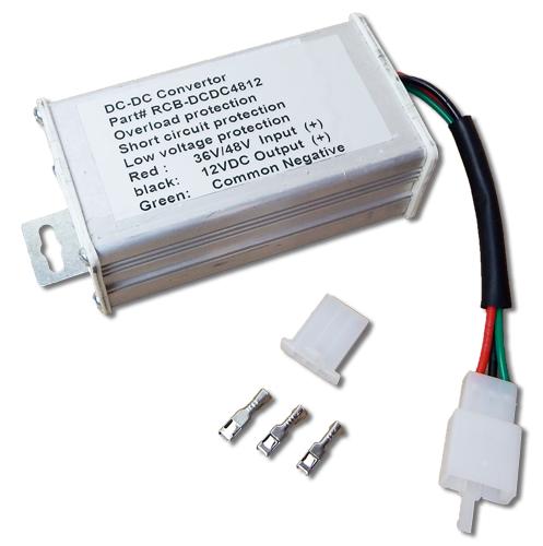 Dc Dc Regulator Module 36v 48v To 12v Dc Dc Converter
