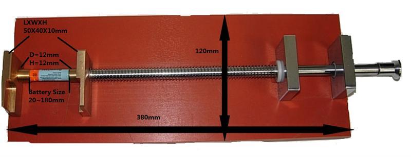 battery holder for short circuit test chamber rh batteryspace com