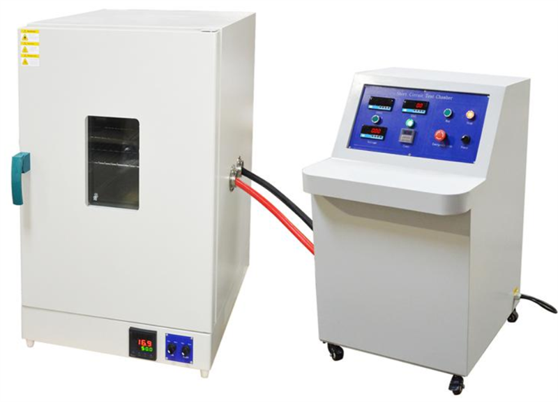short circuit test chamber for rechargeable battery battery pack rh batteryspace com