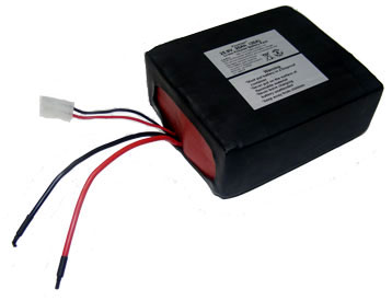 High Amp Battery >> High Power Polymer Li Ion Battery 25 9v 20 Ah 518 Wh 30 Amp Rate