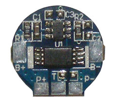 Protection Circuit Module (PCB) for 3 7V Li-ion (18650/18500