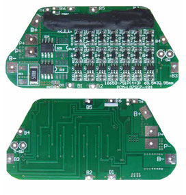 protection circuit module ( pcb ) for 25 9v li ion 22 4v lfp batteryProtection Circuit Module Pcb For 37v Of Liion Battery 20a Limit #5